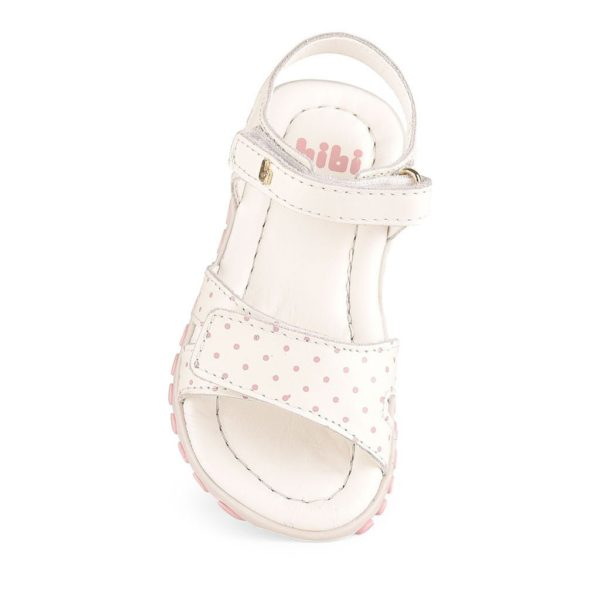 Sandale Fete Bibi Summer Roller Albe