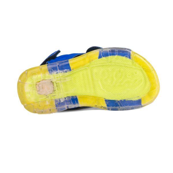 Sandale Baieti Bibi Funny Light Albastre-Rechin