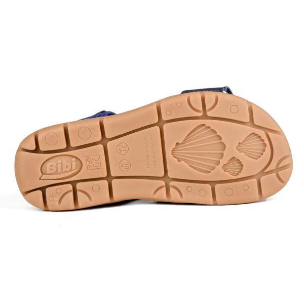 Sandale Baieti Bibi Basic Naval/Brandy