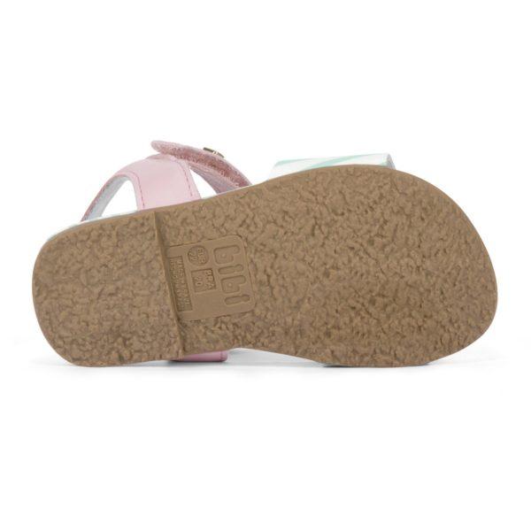 Sandale Fete Bibi Baby Birk Roz-Cactus