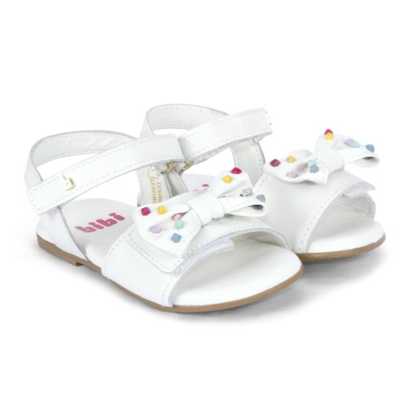 Sandale Fete Bibi Baby Birk Albe