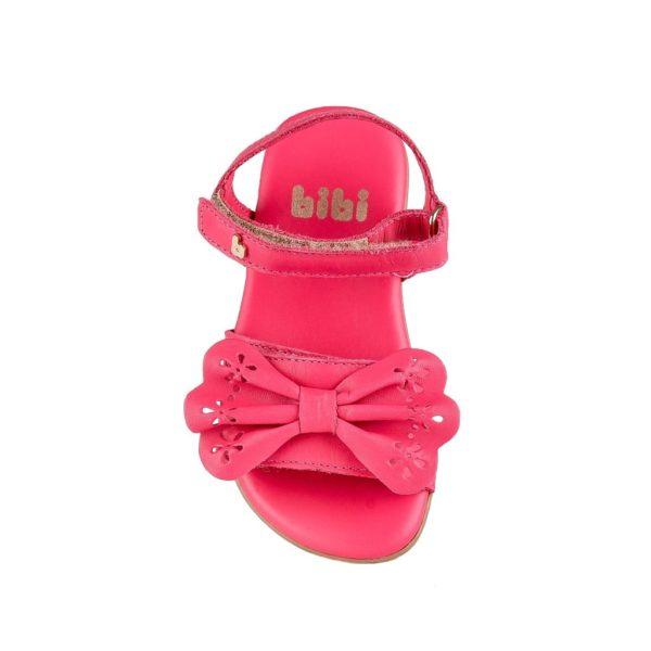Sandale Fete Bibi Baby Birk Ciclamen Cu Funda
