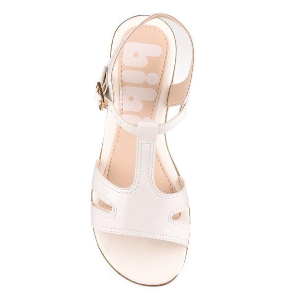 Sandale Fete Bibi Fresh Albe