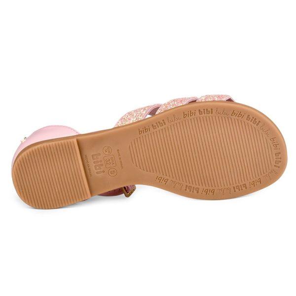 Sandale Fete Bibi Party Roz-Glitter