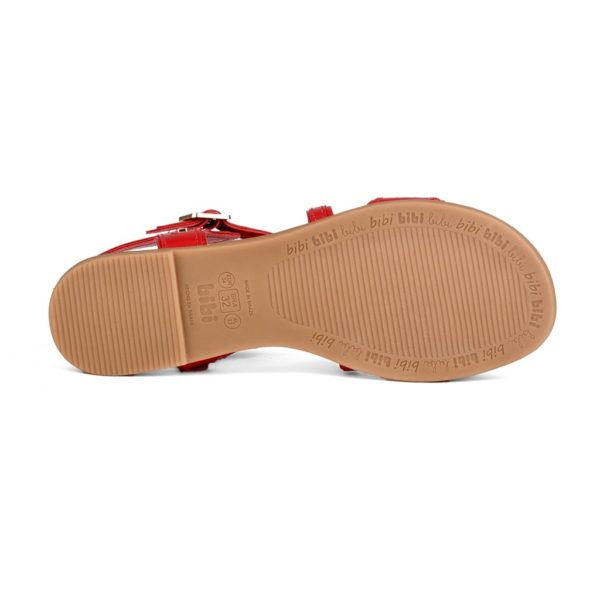 Sandale Fete Bibi Party Rosii