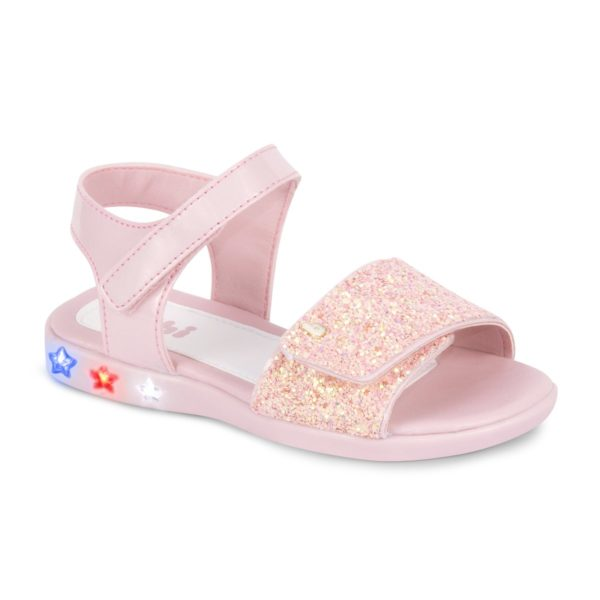 Sandale Fete Bibi Star Light Roz-Glitter