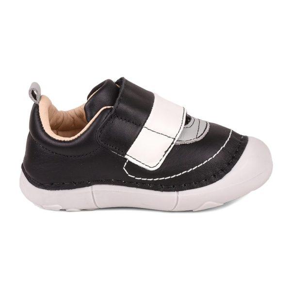Pantofi Baieti BIBI Grow Alb Cu Clapeta