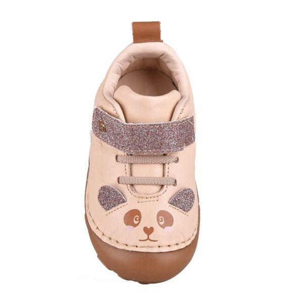 Pantofi Fetite BIBI Grow Champagne Panda