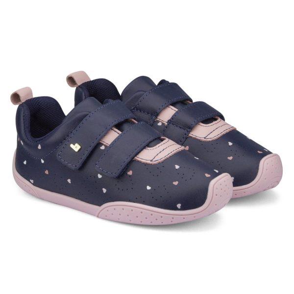 Pantofi Fete BIBI Fisioflex 3.0 Naval Cu Picatele