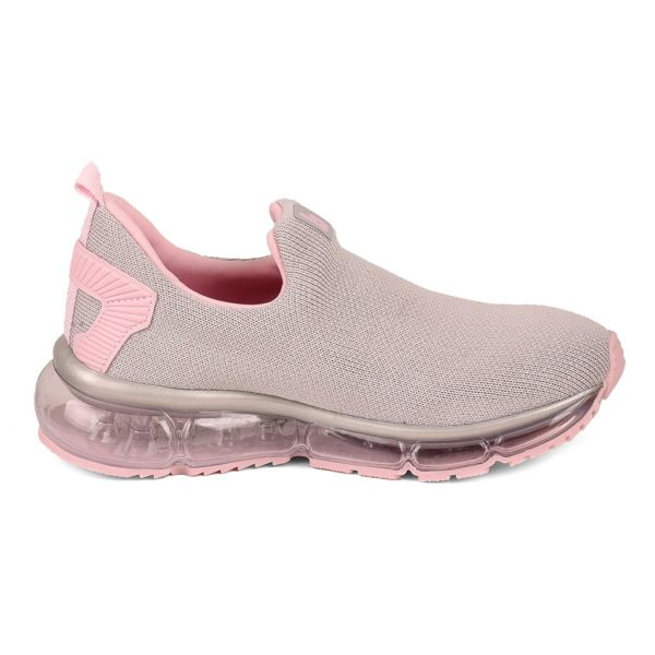 Pantofi Sport Fete BIBI New Bubble Gri/sugar