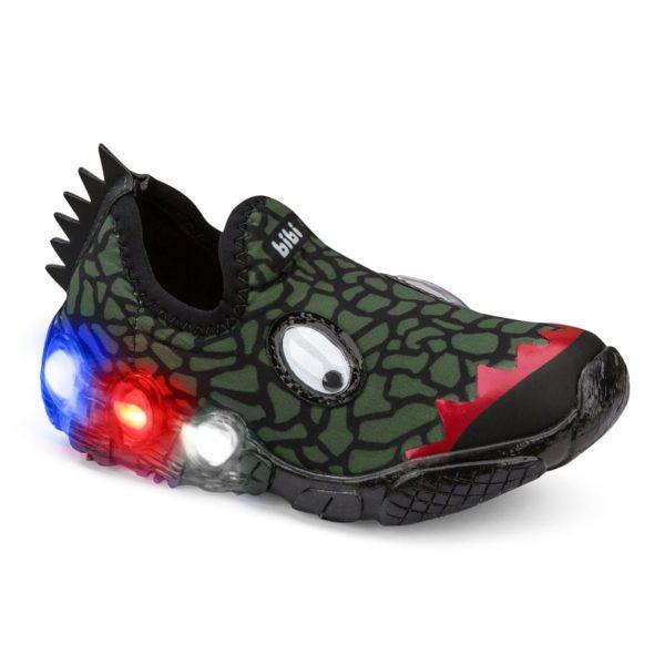 Pantofi Baieti BIBI Space Wave Crocodil