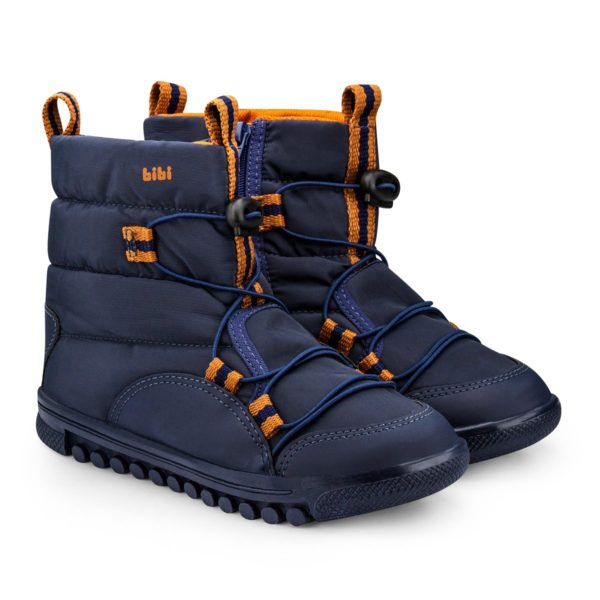 Cizme Baieti Roller New Navy/Orange