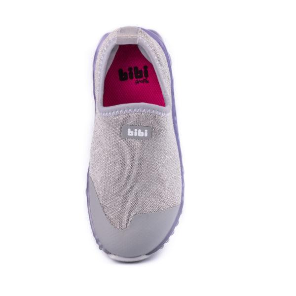 Pantofi Sport LED Bibi Roller Celebration Lurex/Silver