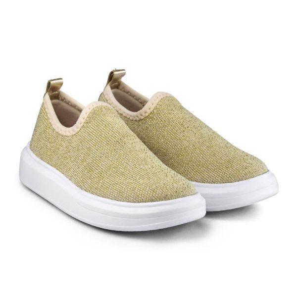 Pantofi Fete Bibi Glam Gold