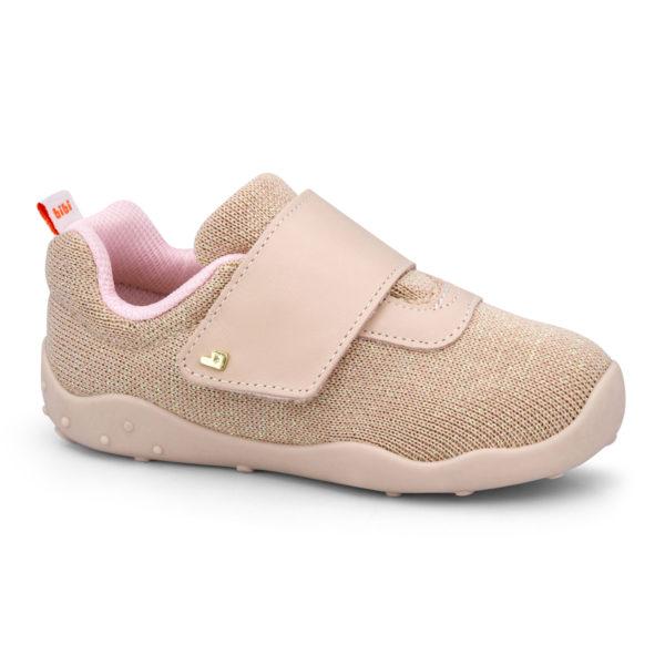 Pantofi Fete Bibi FisioFlex 4.0 Camelia Textil