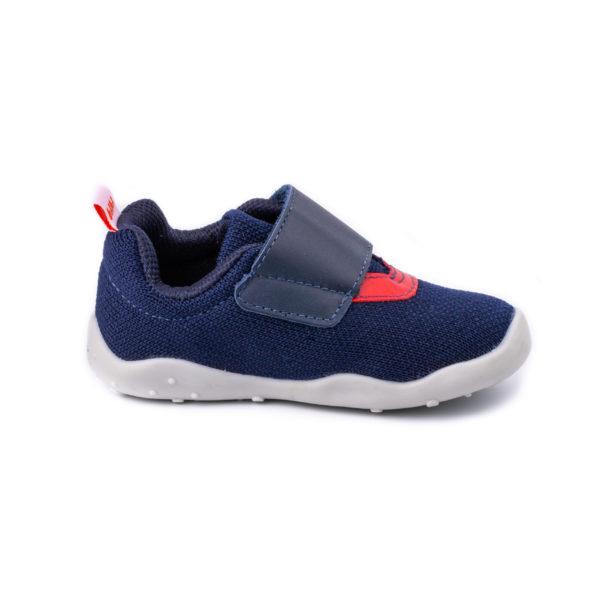 Pantofi Baieti Bibi FisioFlex 4.0 Naval Textil Cu Clapeta