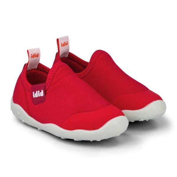 Pantofi Unisex Bibi FisioFlex 4.0 Rosii Lycra