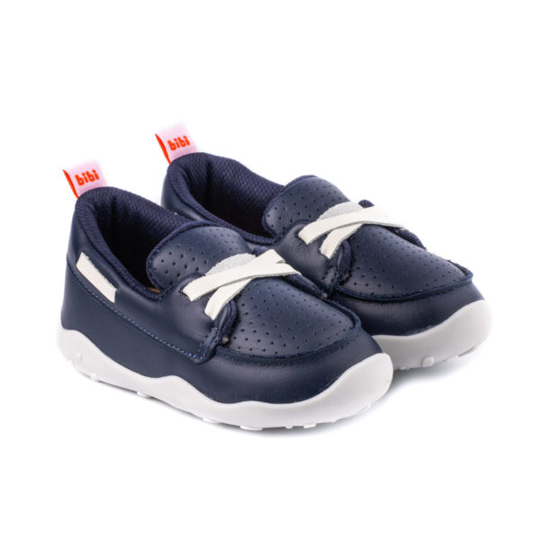 Pantofi Baieti Bibi Fisioflex 4.0 Naval/Alb