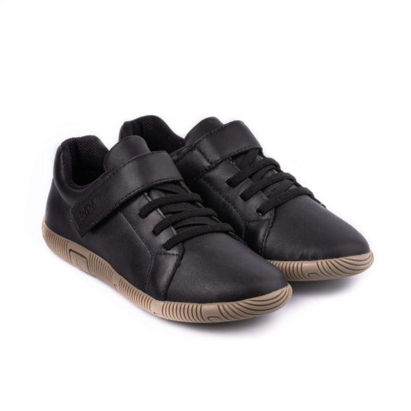 Pantofi Baieti Bibi Walk New Black Cu Velcro