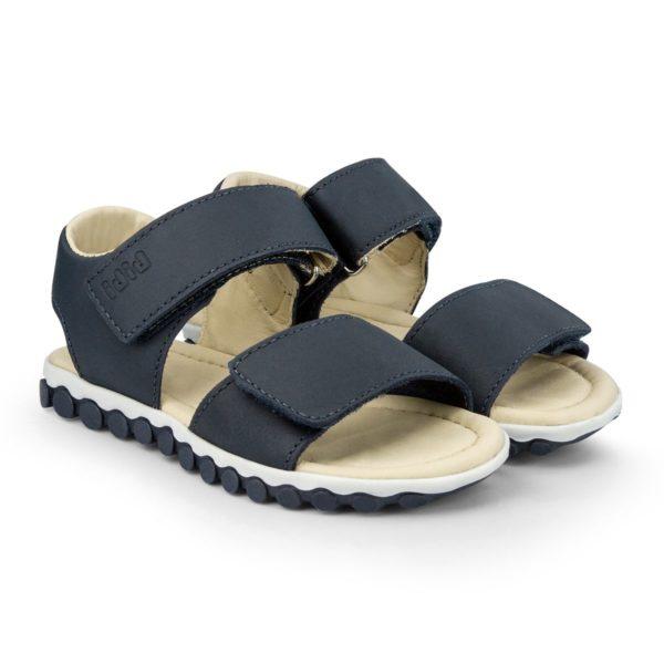 Sandale Baieti Bibi Summer Roller New II Naval cu Velcro