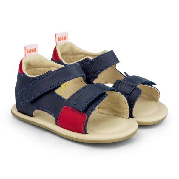 Sandale Baietei Bibi Afeto V Naval/Rosu