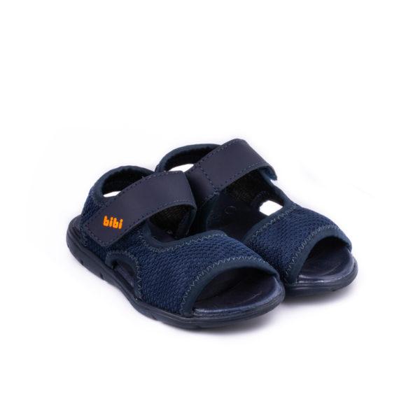 Sandale Baieti Bibi Basic Mini Naval