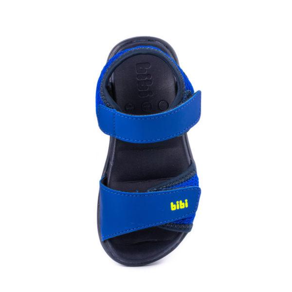Sandale Baieti Bibi Basic Mini Naval Cu Velcro