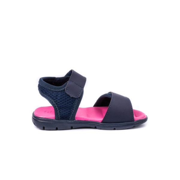 Sandale Fete Bibi Basic Mini Naval/Disco Cu Velcro