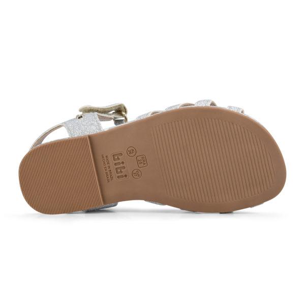 Sandale Fete Mini Me Glitter/Silver