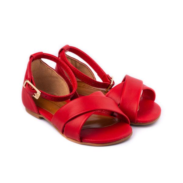 Sandale Fete Bibi Mini Me Rosii