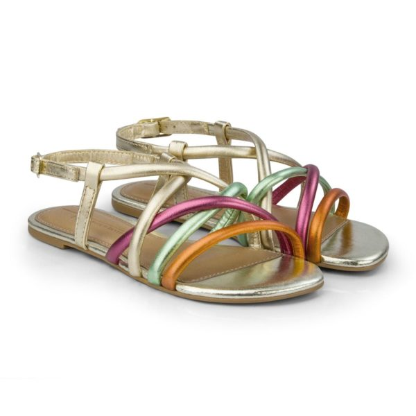 Sandale Fete Bibi Little Me Multicolor