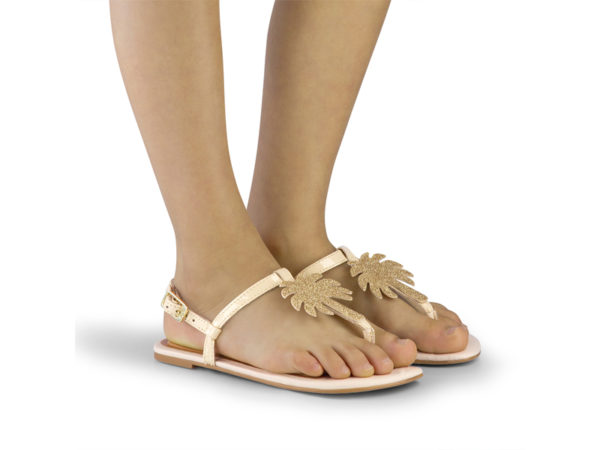 Sandale Fete Bibi Little Me Glitter Palm